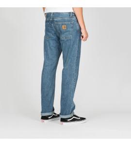 Pantalones Carhartt Davies pant blue