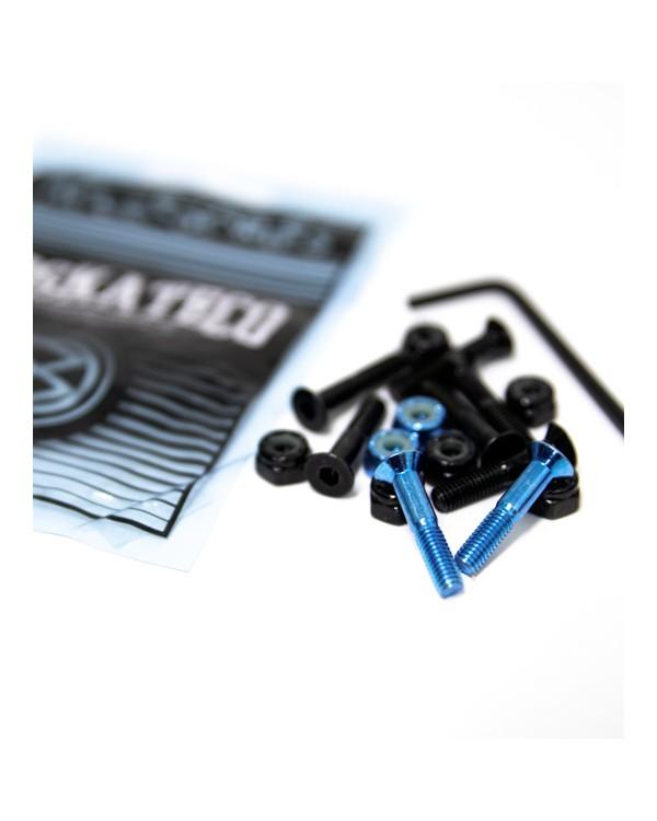 """BD Hardware 1""""  Bl ack+ Metal  blue"""