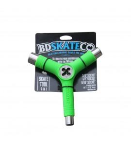 Herramienta skate BD 7n1 Tool