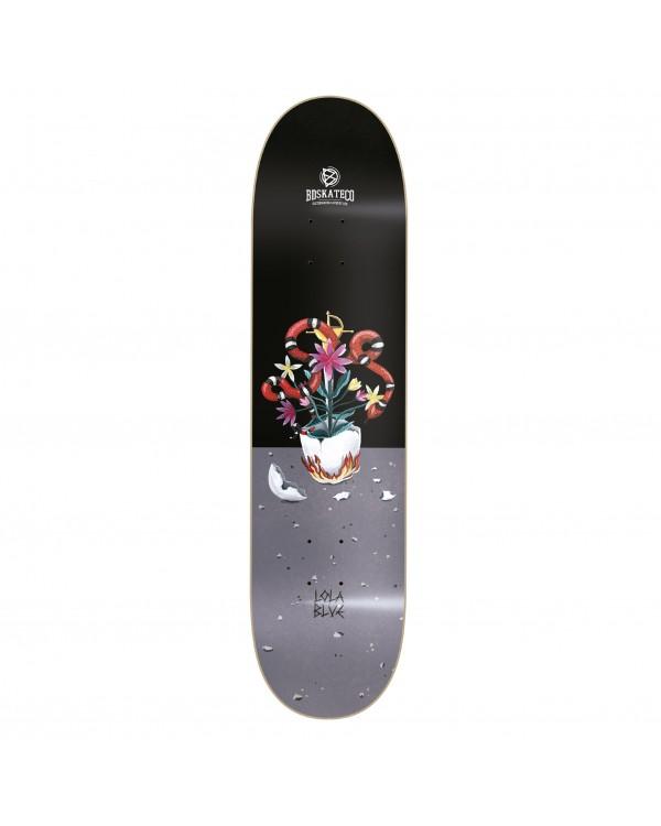 BDSKATECO skateboard DECK Lola Blue SNAKE artist series
