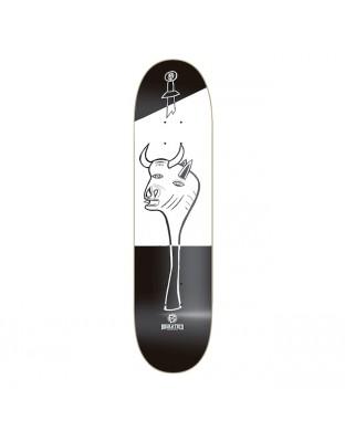 """BDSKATECO  skate deck """"Gernika"""" Artist Series: BULL"""
